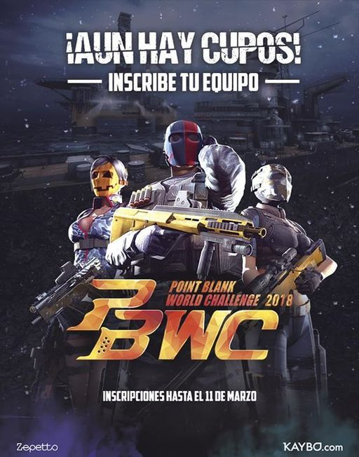 Point Blank World Challenge 2018