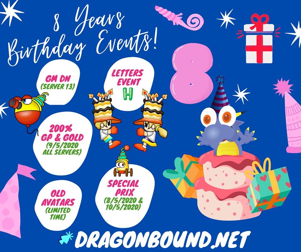 🎁 Happy 8 Years DragonBound 🎁