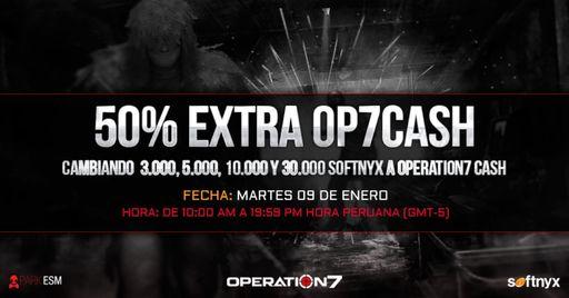 Argentina: OP7 Cash 50% extra este martes 9 de enero