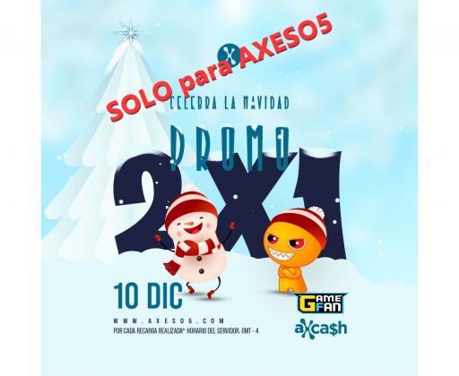 PROMO 2X1 SOLO EN AXESO5 🎁!!!
