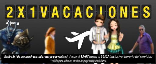 Axeso5: Promocion Vacaciones de invierno 2x1