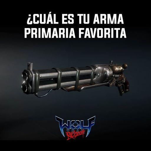 Wolfteam: Cual es tu arma favorita?