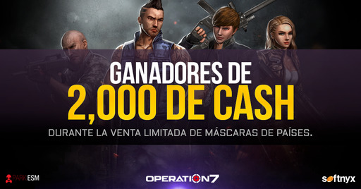 Operation 7: Ganadores del evento de Venta Limitada
