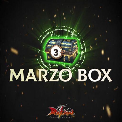 Rakion: Abre la nueva MarzoBox y obtén los mejores ex items al azar.