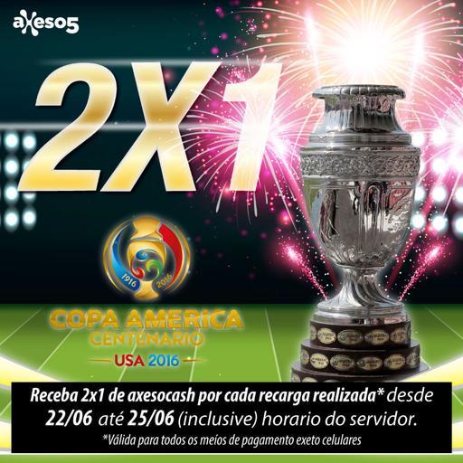 Axeso5: Promocion Copa America 2x1