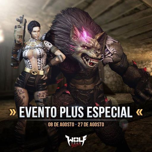 Wolfteam: Wolves¡Aprovecha del Evento Plus Especial!