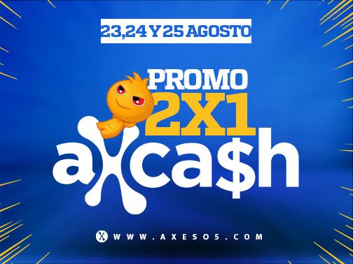 Axeso5: Promo 2x1 de Agosto!