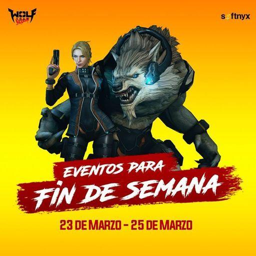 Wolfteam: Eventos del Fin de Semana