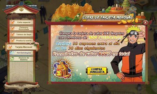 Axeso5: Naruto Online Tarjeta Mensual