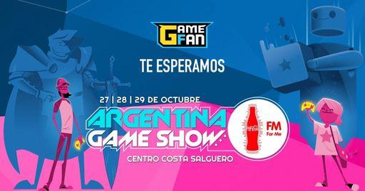 Te esperamos en Argentina GameShow 2017