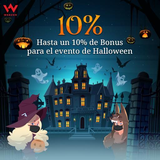 Webzen: Evento de halloween hasta el 10 de noviembre!