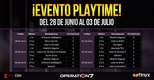 Operation 7: Evento PlayTime