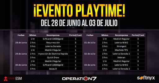 Operation 7: Evento PlayTime