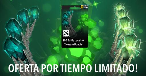 Dota 2: Oferta increible Battle Pass + Treasure Bundle