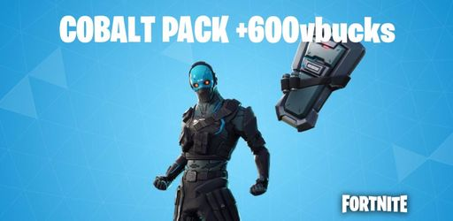 Fortnite: Paquete cobalto + 600 Vbucks